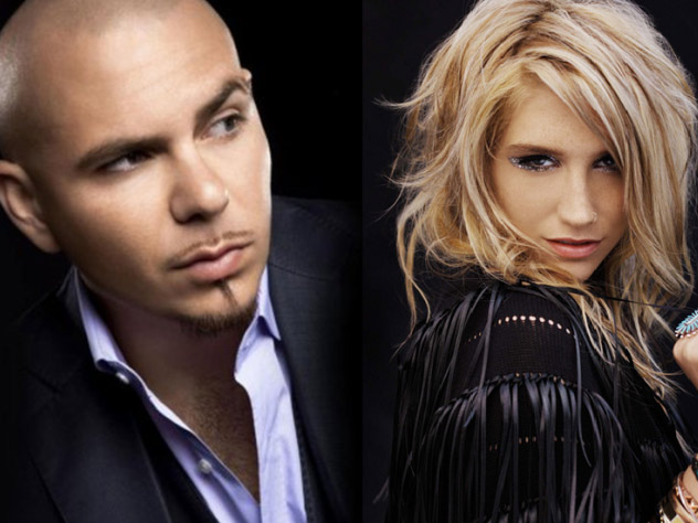 BAND - pitbull, kesha